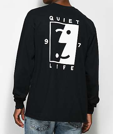 Quiet Life Finder Black Long Sleeve T-Shirt