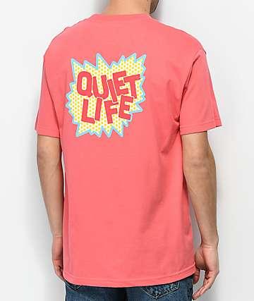 Quiet Life Lichtenstein Pink T-Shirt