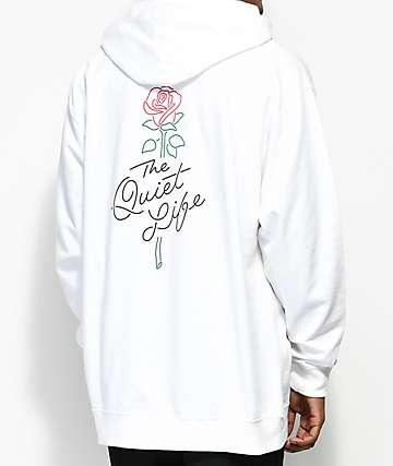 Quiet Life Rose White Hoodie