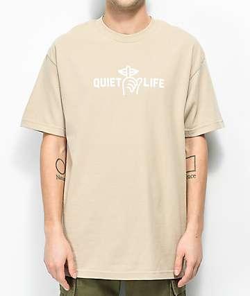 Quiet Life Shhh Beige T-Shirt