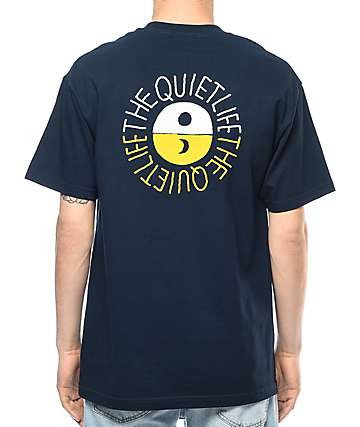 Quiet Life Solar Navy T-Shirt