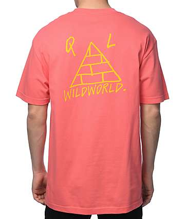 Quiet Life Wildworld Coral T-Shirt