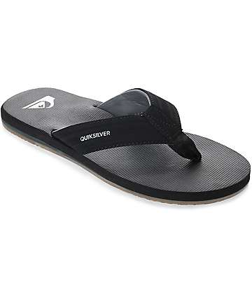 Quiksilver Island Oasis sandalias negras