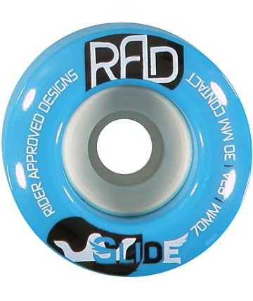 RAD Glide 70mm 82a Longboard Wheels