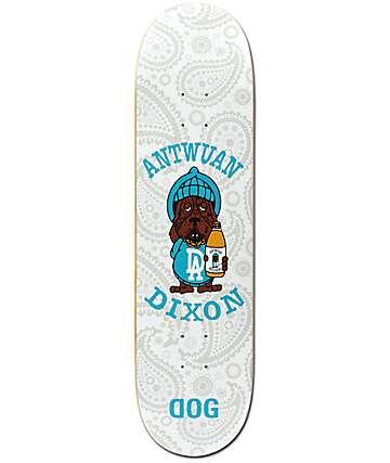"RAWDOGRAW Dixon White Slosh 8.25"" Skateboard Deck"
