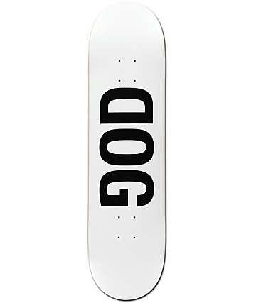 """RAWDOGRAW Dog White 8.12"""" Skateboard Deck"""