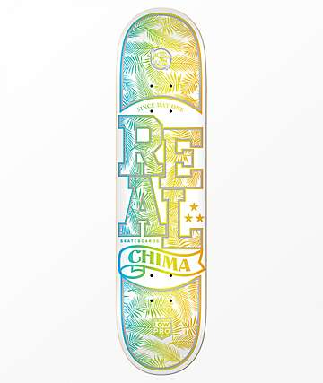 "REAL Chima Holographic Lo Pro 8.25"" Skateboard Deck"