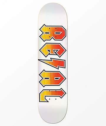 "REAL Deeds Whiteout 8.5"" Skateboard Deck"
