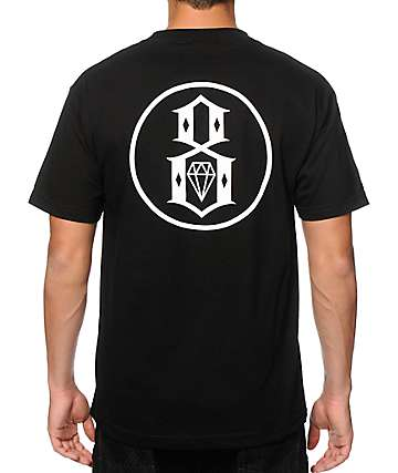 REBEL 8 Outline Logo T-Shirt