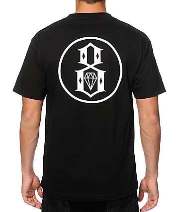REBEL 8 Outline Logo T-Shirt