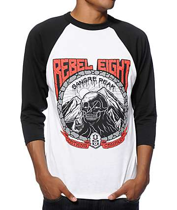 REBEL 8 Sangre Peak Baseball T-Shirt