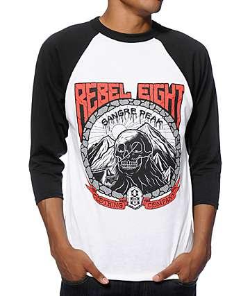 REBEL 8 Sangre Peak Baseball T-Shirt