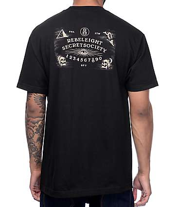 REBEL8 All Hail Black T-Shirt