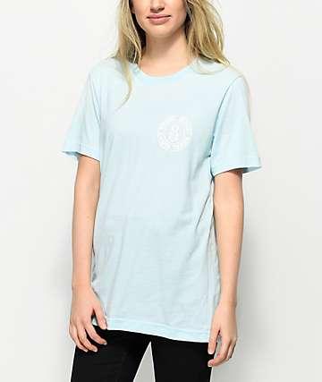 REBEL8 Blotch camiseta en azul claro