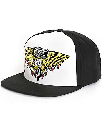 REBEL8 Bomber Snapback Hat
