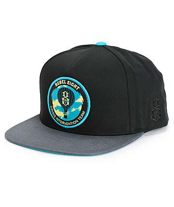 REBEL8 Crisis Intervention Snapback Hat