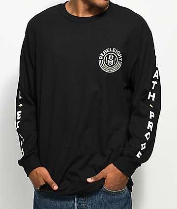 REBEL8 Death Proof Black Long Sleeve T-Shirt