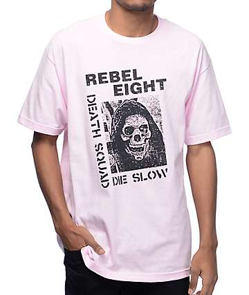 REBEL8 Downfall Pink T-Shirt