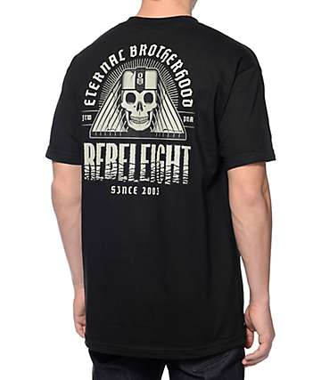 REBEL8 Eternal Brotherhood Black T-Shirt