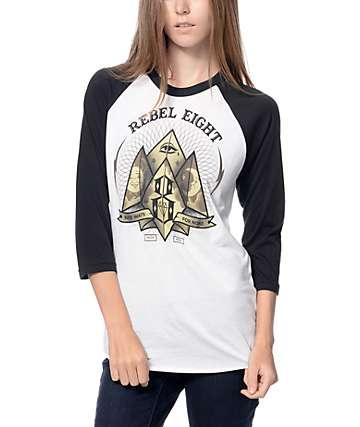 REBEL8 Fate For None Baseball T-Shirt
