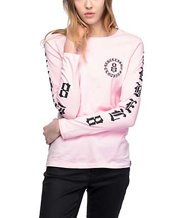 REBEL8 Immortals Pink Long Sleeve T-Shirt