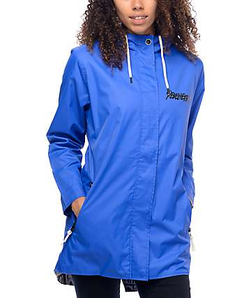 REBEL8 Introspective Blue Windbreaker Jacket