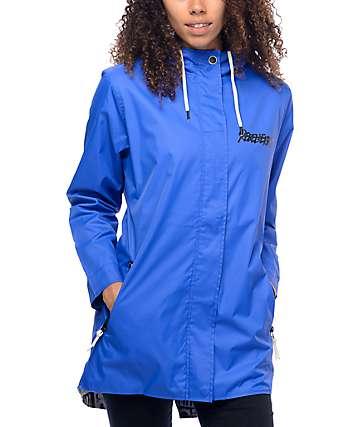 REBEL8 Introspective Blue Windbreaker Jacket