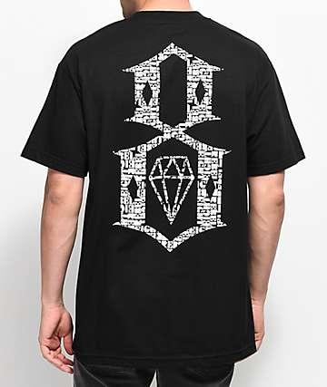 REBEL8 Overspray Black T-Shirt