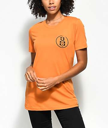 REBEL8 Overspray Burnt Orange T-Shirt