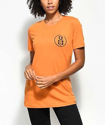 REBEL8 Overspray camiseta en color naranja