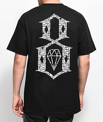 REBEL8 Overspray camiseta negra