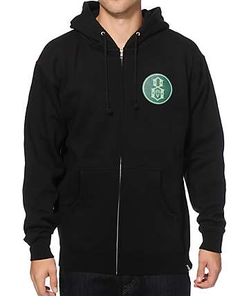REBEL8 Pioneers Zip Up Hoodie