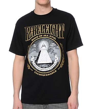 REBEL8 Root Of All Evil Black T-Shirt