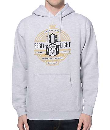 REBEL8 Royalty Seal Hoodie