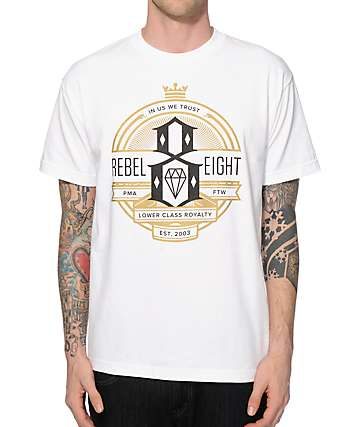 REBEL8 Royalty Seal T-Shirt