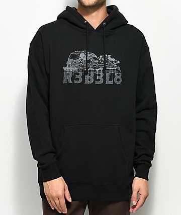 REBEL8 Sacrifice Black Hoodie