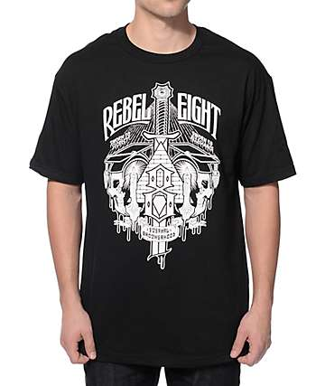 REBEL8 Secret Allegiance Black T-Shirt