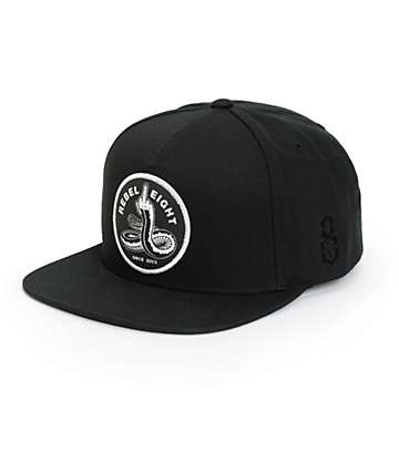 REBEL8 Spineless Snapback Hat