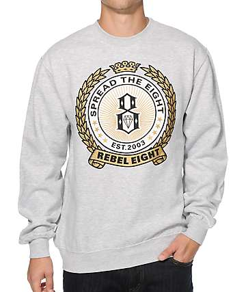 REBEL8 Spread The 8 Hops Crew Neck Sweatshirt