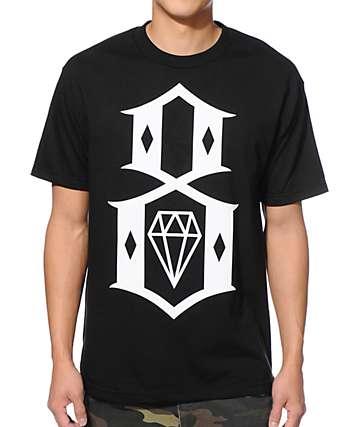 REBEL8 Standard Issue Logo Black T-Shirt