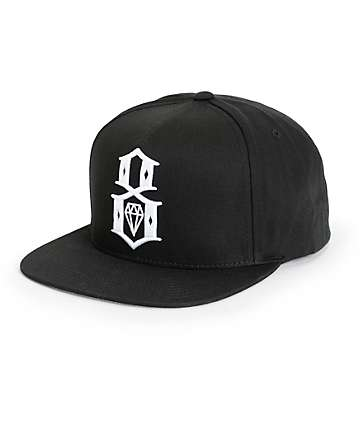 REBEL8 Standard Issue Logo Snapback Hat