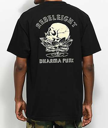 REBEL8 Subsist Black T-Shirt