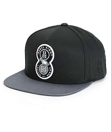 REBEL8 Sworn To Secrecy Snapback Hat