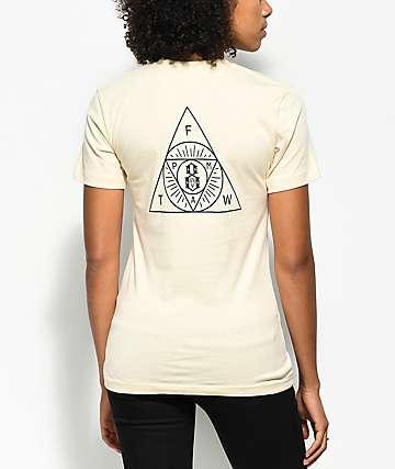 REBEL8 The Order  camiseta en color crema