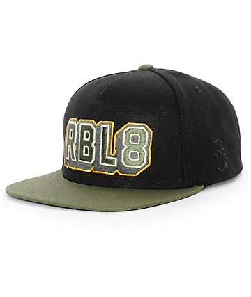 REBEL8 Top Gunner Snapback