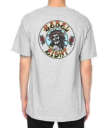 REBEL8 Ungrateful Grey T-Shirt