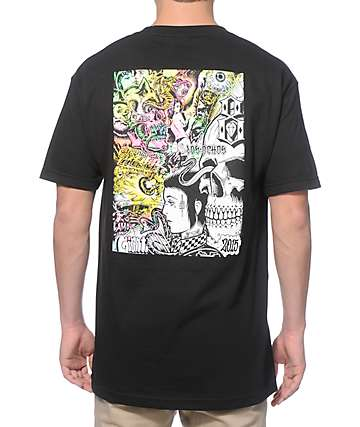 REBEL8 x Mishka Gates Of Hell Black T-Shirt