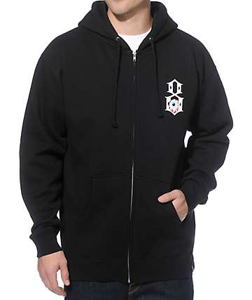 REBEL8 x Mishka Gates Of Hell Black Zip Up Hoodie