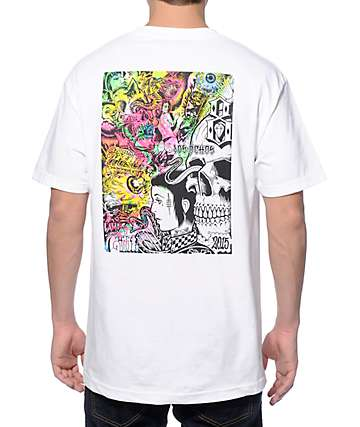 REBEL8 x Mishka Gates Of Hell White T-Shirt
