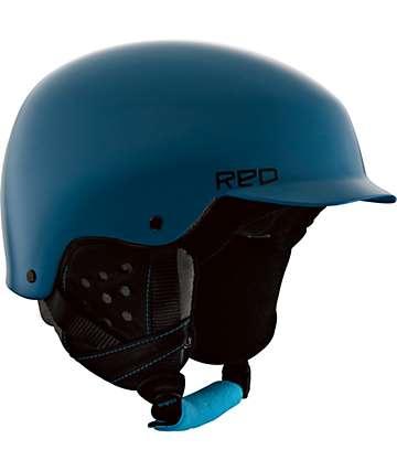 RED Mutiny Blue Snowboard Helmet